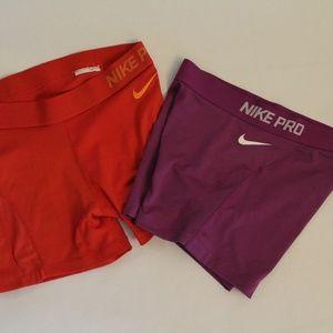 Nike Pro Hypercool Workout shorts